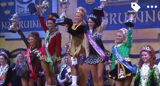 Alannah Murray 2nd in the World Dublin 2017