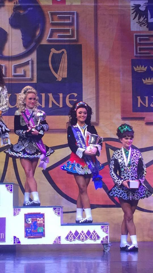 Niamh Muldowney - 5th in the World
