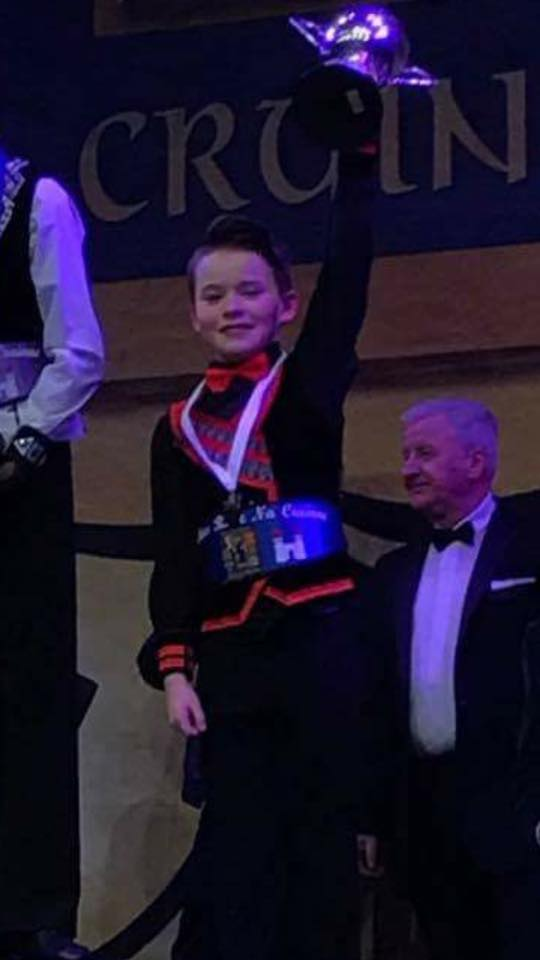 Oisin Lennon - 5th in the World 2017