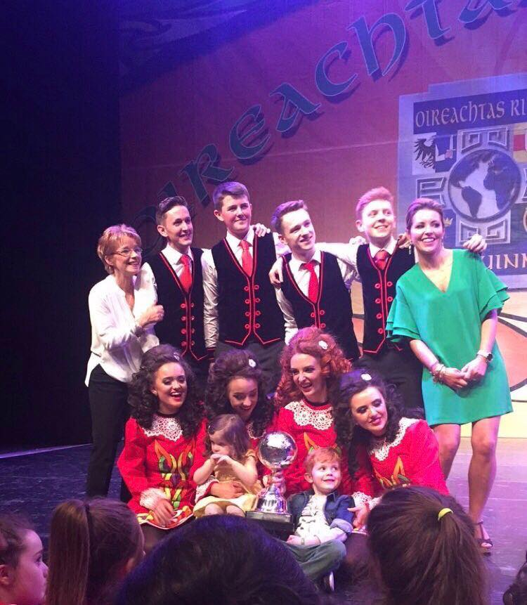 Senior Mixed Ceili 2017-2nd in the world