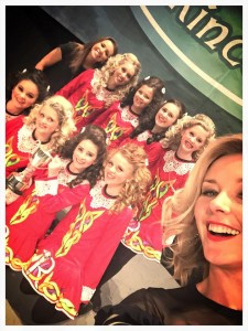U15 girls ceili - All Ireland Champions